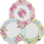 Truly Scrumptious Plates - 21cm Paper Party Plates