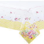 Truly Scrumptious Vintage Paper Tablecover - 1.8m x 1.2m