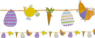 The Great Egg Hunt Bunting - 5m