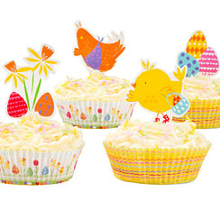The Great Egg Hunt Cake Cases & Toppers