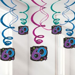 60th birthday decorations banners 60th birthday party for 60th birthday decoration