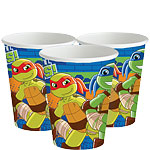 Half Shell Heroes Cups - 266ml Paper Party Cups