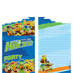 Half Shell Heroes Invites - Party Invitation Cards