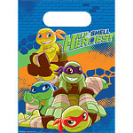 Half Shell Heroes Party Bags - Plastic Loot Bags