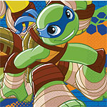 Half Shell Heroes Napkins - 2ply Paper