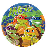 Half Shell Heroes Plates - 23cm Paper Party Plates