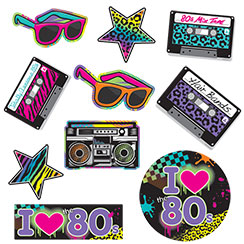 80 s party 80 s party supplies decorations party for Decoration 80 s