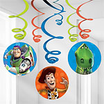 Toy Story Party Decorations - Hanging Swirls