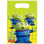 Toy Story 3 Party Bags - Plastic Loot Bags