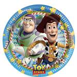 Toy Story Plates - 23cm Paper Party Plates