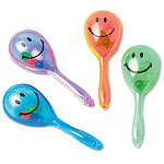 Mini Smiley Maraca