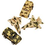 Pull Back Army Tank/Jet Toys