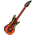 Inflatable Flame Guitar - 106cm