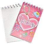 Mini Princess Notebooks