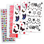 Nail & Body Stickers Set