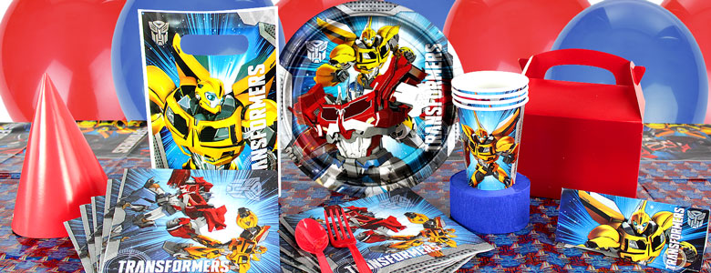 Transformers Party Supplies | Party Delights