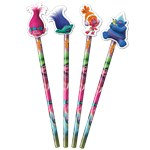 Trolls Pencil with Eraser Topper