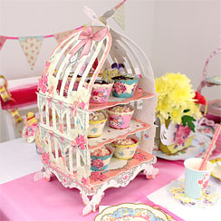 Truly Scrumptious Party Birdcage Patisserie Stand