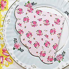Truly Scrumptious Scalloped Edge Napkins - 3ply Paper
