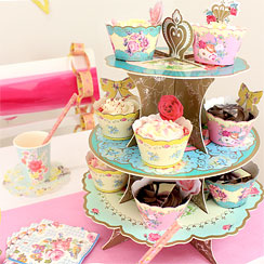 Truly Scrumptious Cup Cake Stand - 3 Tier