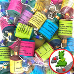 Party Poppers - Assorted Colours