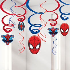 Spider-Man Hanging Swirls - 60cm