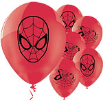 "Spider-Man Balloons - 11"" Latex"