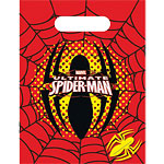 Spider-Man Party Bags - Plastic Loot Bags