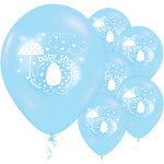 Umbrellaphants Blue Balloons - 12