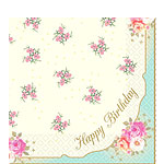 Happy Birthday Paper Luncheon Napkins