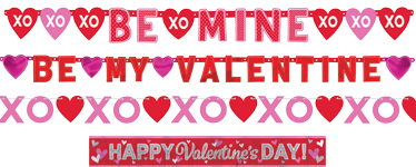 Valentines Banner Pack - Various Sizes