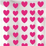 Foil Heart Spray - 48cm Valentines Decoration