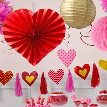 Valentine S Party Decorations Balloons More Party Delights