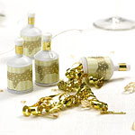 Vintage Romance - Ivory/Gold Party Poppers