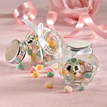 Mini Glass Jars Favour Boxes - 5cm