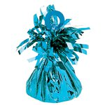 Caribbean Blue Foil Balloon Weight - 170g
