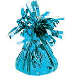 Turquoise Foil Balloon Weight - 170g