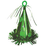 Large Green Party Hat Weight - 183g