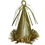 Large Gold Party Hat Weight -