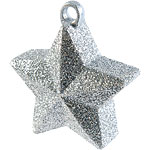 Silver Glitter Star Weight 170g