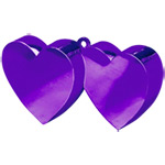 Purple Double Heart