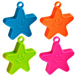 Neon Star Balloon Weights