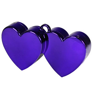 Purple Double Heart - 170g