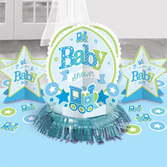 Welcome Boy Baby Shower Table Decorating Kit