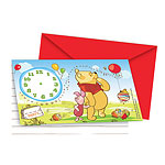 Winnie The Pooh Invites - Party Invitation Cards