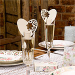 With Love Place Cards - Ivory