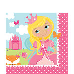 Woodland Princess Luncheon Napkins - 2ply Paper