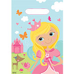 Woodland Princess Party Bags - Plastic Loot Bags