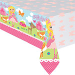 Woodland Princess Plastic Tablecover
