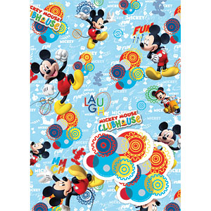 mickey mouse wrapping paper